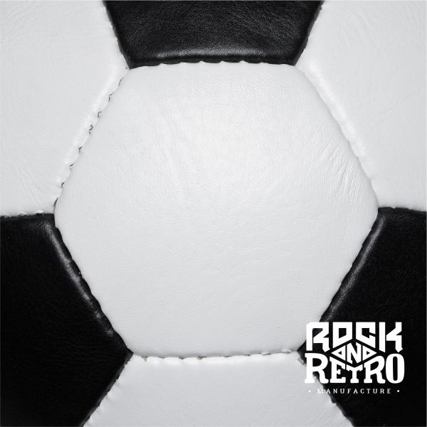 Мяч футбольный, World Cup 1970, 32 панели, белая и чёрная кожа