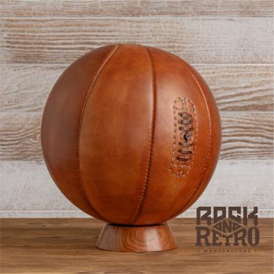 Мяч баскетбольный, размер 5, 8 панелей, светло-коричневая кожа